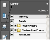 The Layers tab in Adobe Acrobat.